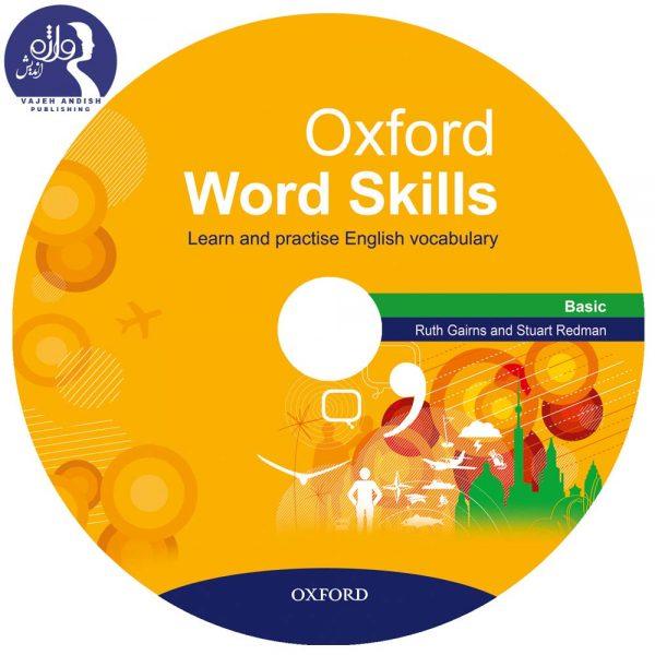 سی دی کتاب زبان Oxford word skills Basic