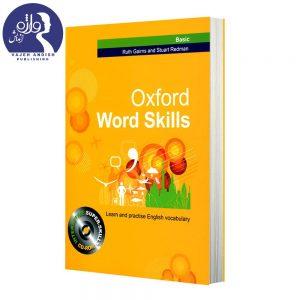 روی جلد کتاب زبان Oxford word skills Basic