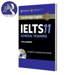 روی جلد کتاب زبان Cambridge English IELTS 11 General