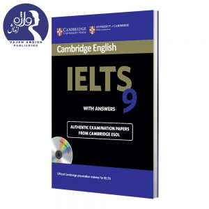 کتاب زبان Cambridge English IELTS 9