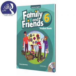 کتاب زبان American Family and Friends 6