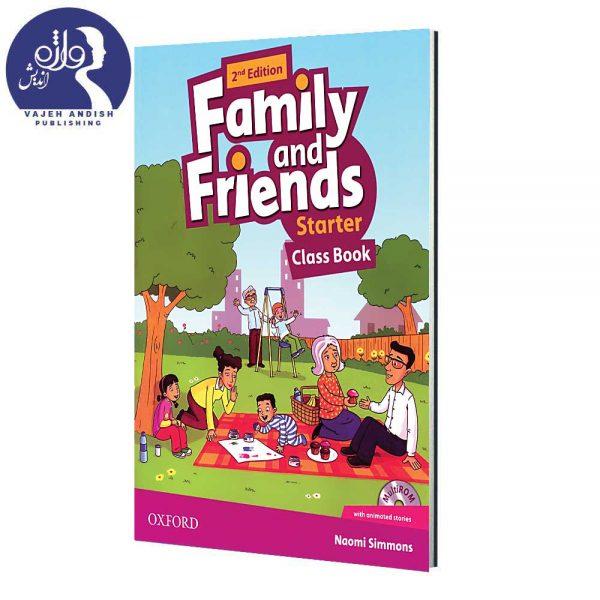 کتاب زبان Family and Friends Starter