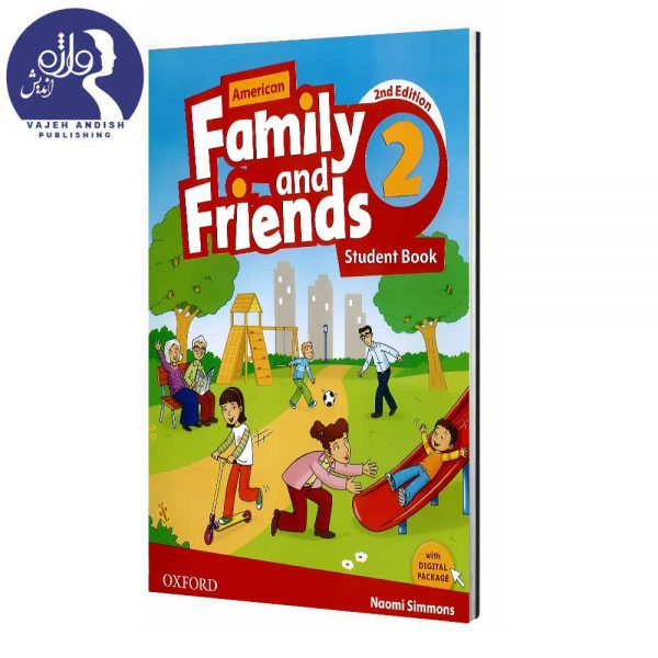 کتاب زبان Family and friends 2