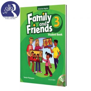 کتاب زبان American Family and Friends 3