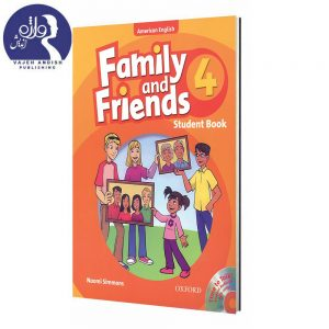 کتاب زبان American Family and Friends 4