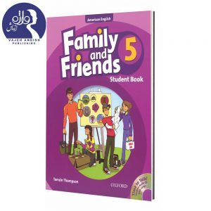 کتاب زبان American Family and Friends 5