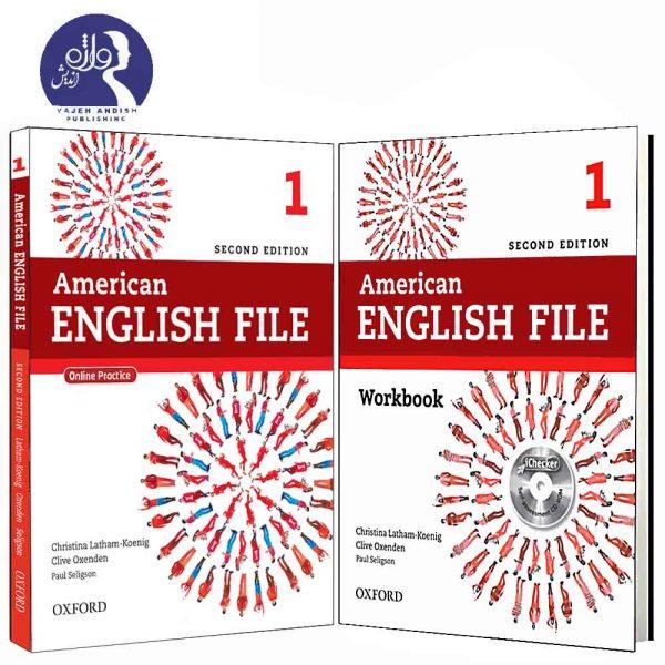 کتاب درسی و کار امریکن اینگلیش فایل 1