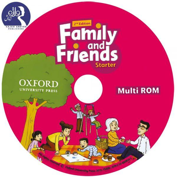 سی دی کتاب زبان Family and Friends Starter