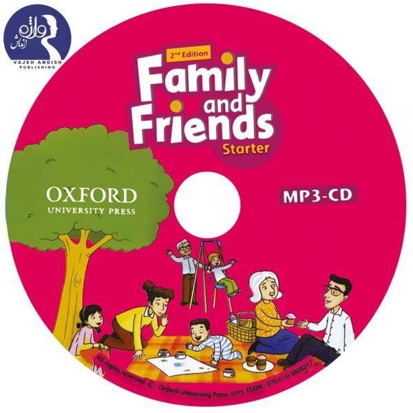 سی دی MP3 کتاب زبان Family and Friends Starter