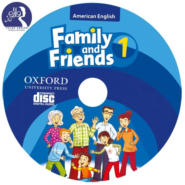 سی دی کتاب زبان American Family and Friends 1