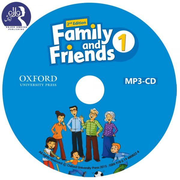 سی دی کتاب زبان American Family and Friends 1