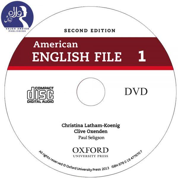 دی وی دی کتاب زبان 1 American English File
