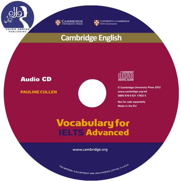 سی دی کتاب زبان Vocabulary for IELTS Advanced