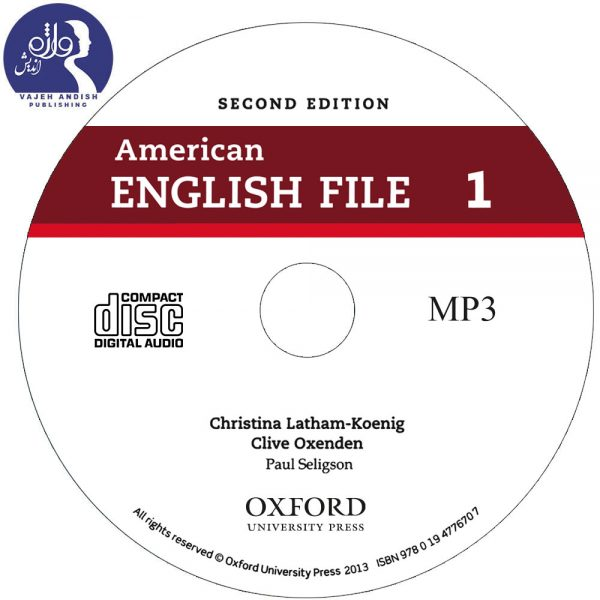 سی دی کتاب زبان 1 American English File