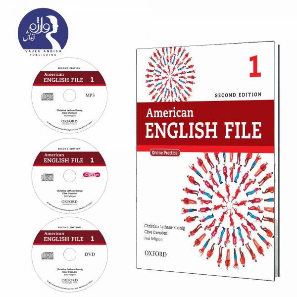 کتاب و سی دی های امریکن انگلیش فایل 1