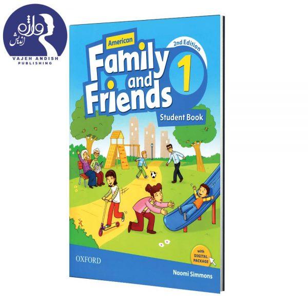 کتاب زبان American Family and Friends 1