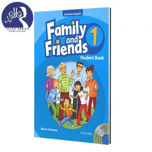 کتاب زبان American Family and Friends 1