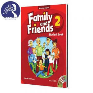 کتاب زبان American Family and Friends 2