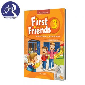 کتاب زبان American First Friends 3