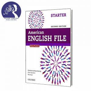 کتاب زبان American English File Starter
