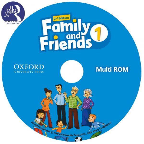دی وی دی کتاب زبان American Family and Friends 1
