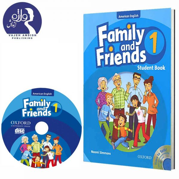 سی دی و کتاب زبان American Family and Friends 1